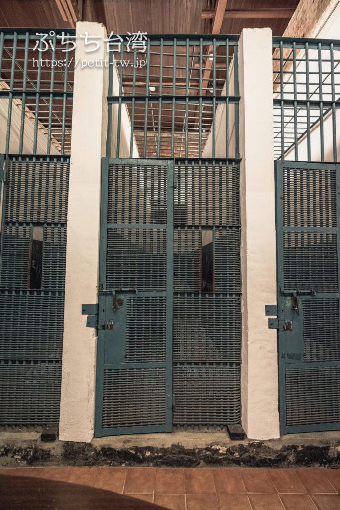 国定古跡台南地方法院(旧台南地方法院)の牢屋、監獄室