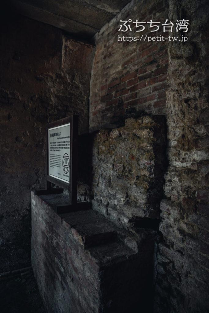 赤崁樓(赤崁楼)の赤煉瓦