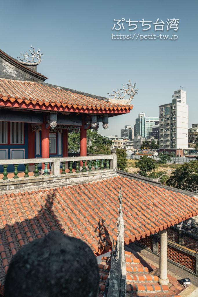 赤崁樓(赤崁楼)の外観、眺望