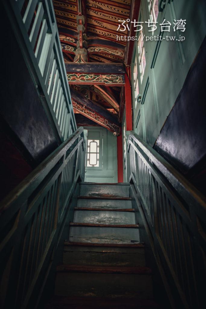 赤崁樓(赤崁楼)の館内の階段