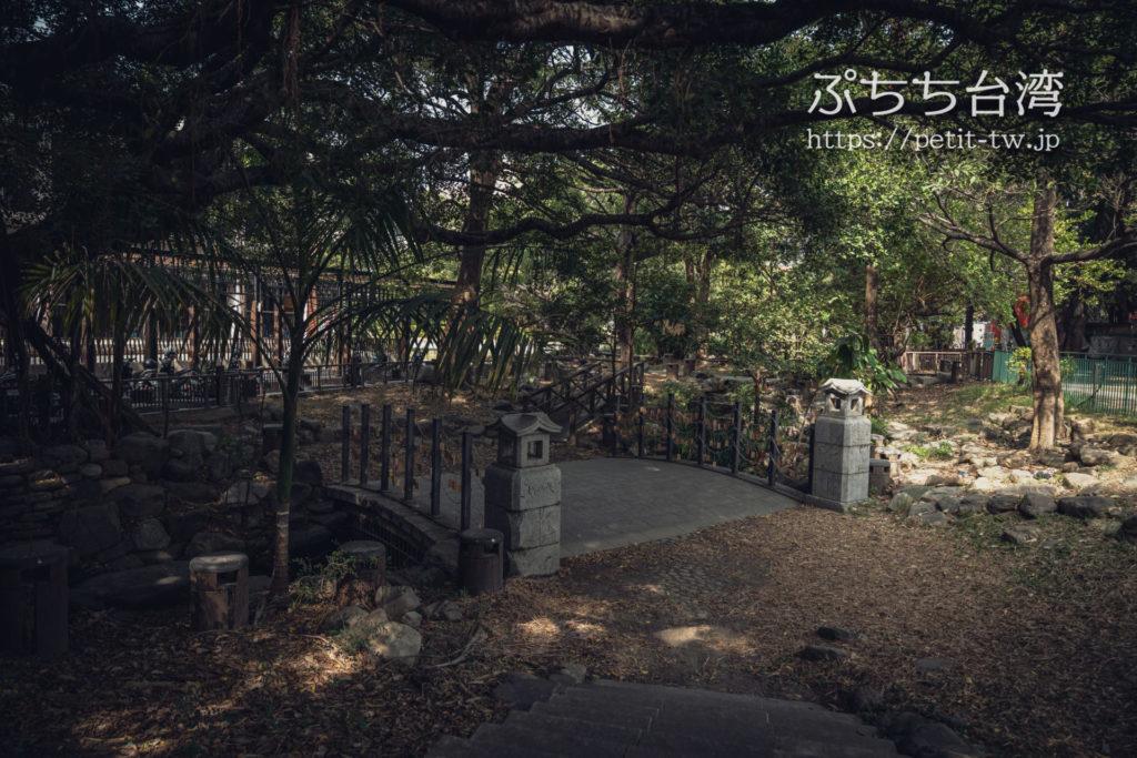 台南神社跡の橋、成功橋
