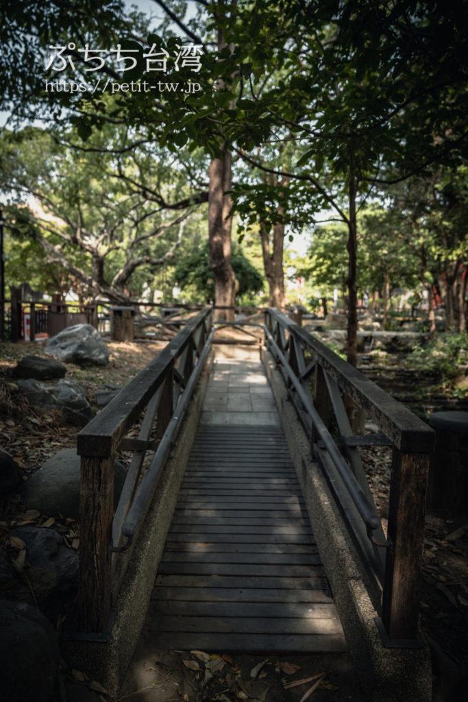 台南神社跡の橋