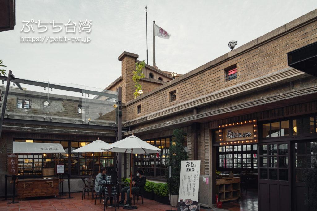 台南の林百貨、5階の外観